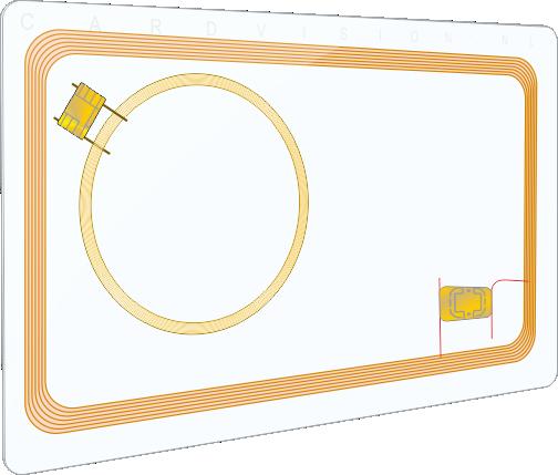 blanco-plastic-card-MIFARE®-EM4100