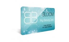 Card Vision voorbeeld card Evolis Carte-bbloom