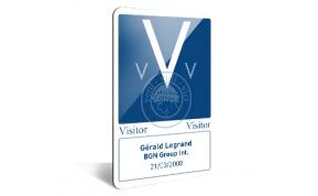 Card Vision voorbeeld card Evolis Carte_vertical Visitor V